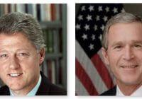Persone famose con gli apparecchi acustici : Clinton o Bush