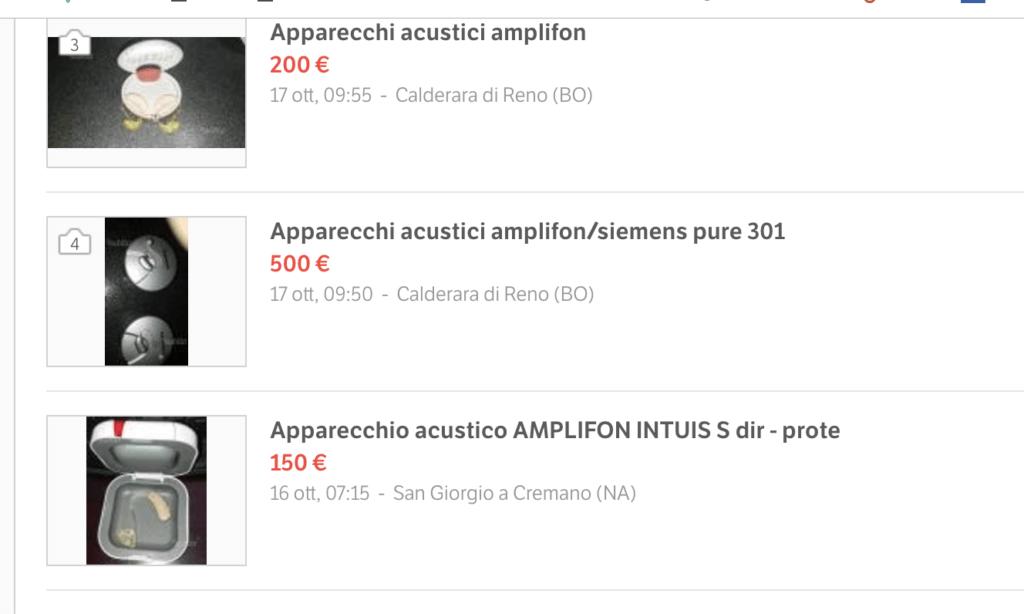 Apparecchi acustici a Udine
